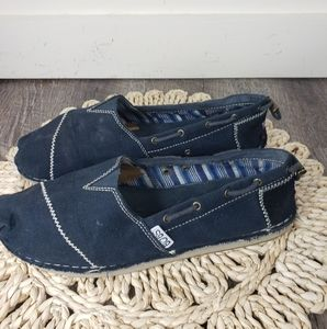 Skechers Bobs Black Slip on Shoe 8.5